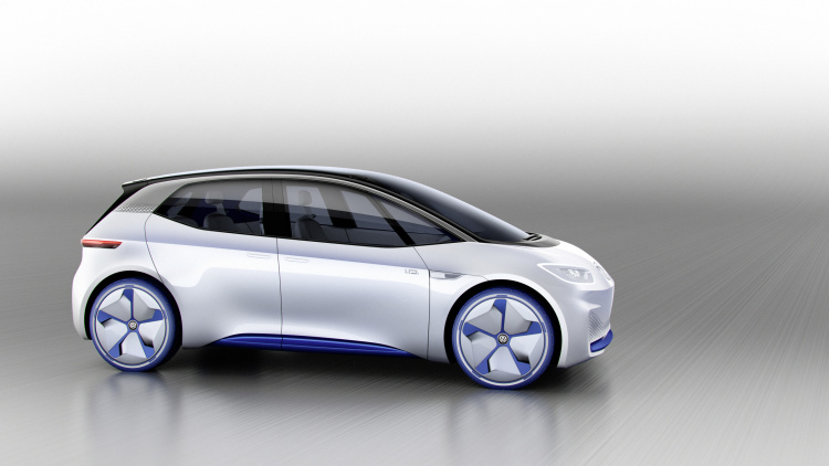 chi tiet ngoai hinh mau xe dien volkswagen i.d. concept moi hinh anh 4