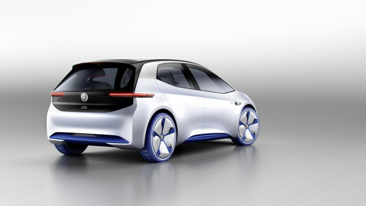chi tiet ngoai hinh mau xe dien volkswagen i.d. concept moi hinh anh 3