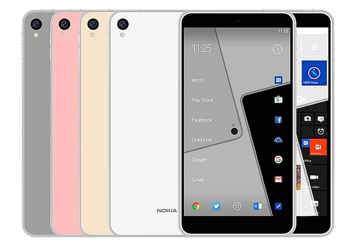 dien thoai nokia d1c chay android 7.0, gia mem hinh anh 1