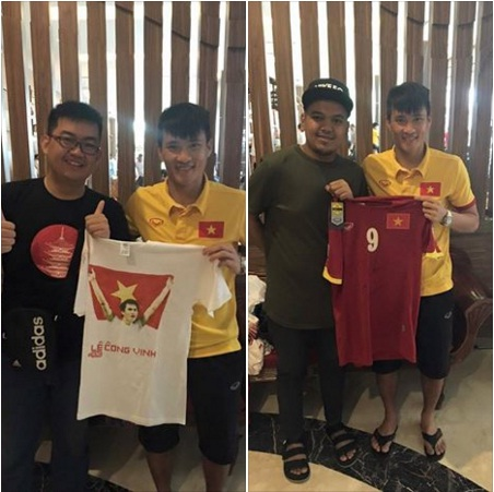 "cong vinh dang anh khoe co ""fan cuong"" o indonesia hinh anh 1"
