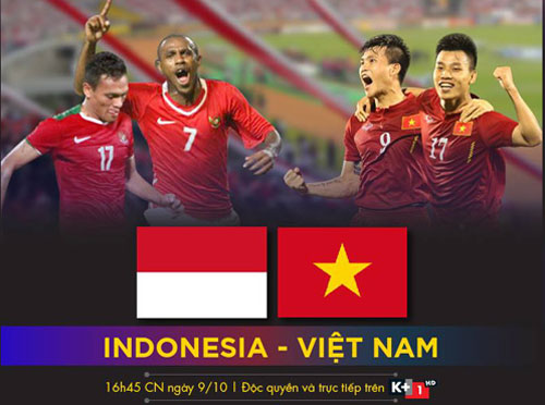 k+ truc tiep tran dt indonesia - dt viet nam hinh anh 1