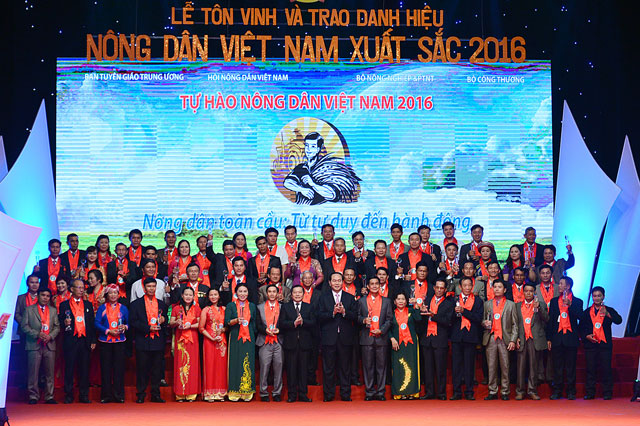 anh: toan canh le ton vinh tu hao nong dan viet nam 2016 hinh anh 8