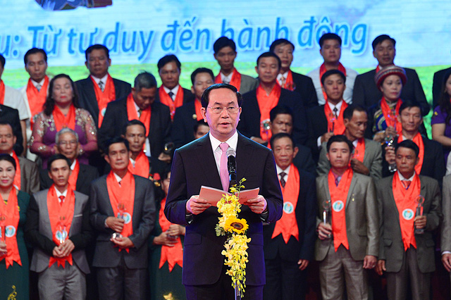 anh: toan canh le ton vinh tu hao nong dan viet nam 2016 hinh anh 9