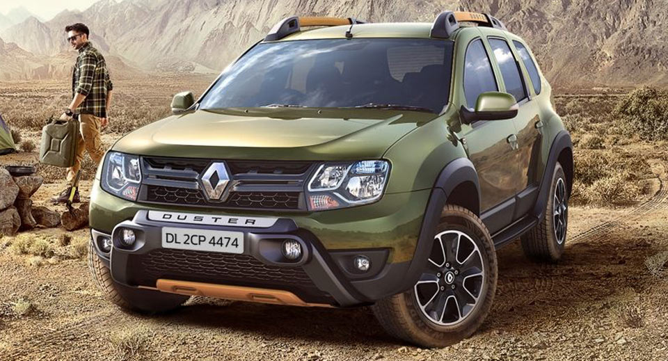 "ve ""ham ho"" cua renault duster adventure edition hinh anh 2"
