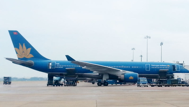 so su co, vietnam airlines cam galaxy note 7 len may bay hinh anh 1