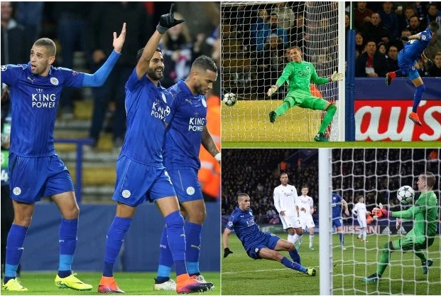 leicester city thiet lap ky luc moi tai champions league hinh anh 1