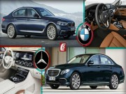BMW 5-Series va Mercedes Benz E-Class: Ai bao hon ai?