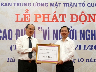"agribank ung ho quy ""vi nguoi ngheo"" 5 ty dong hinh anh 3"