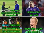 "The thao - HaU TRuoNG (20.10): Messi ""choi xo"" Neymar, Joe Hart ""da deu"" Guardiola,"