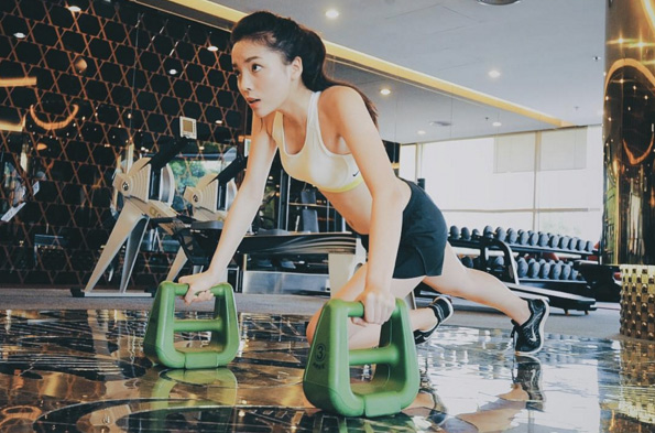 ky duyen goi cam, nuot na tap gym khien fan me met hinh anh 8