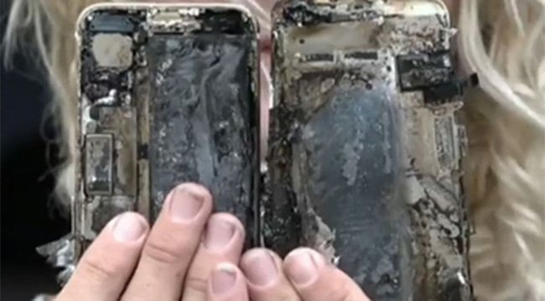 hot: iphone 7 phat no, xe o to bi chay hinh anh 1