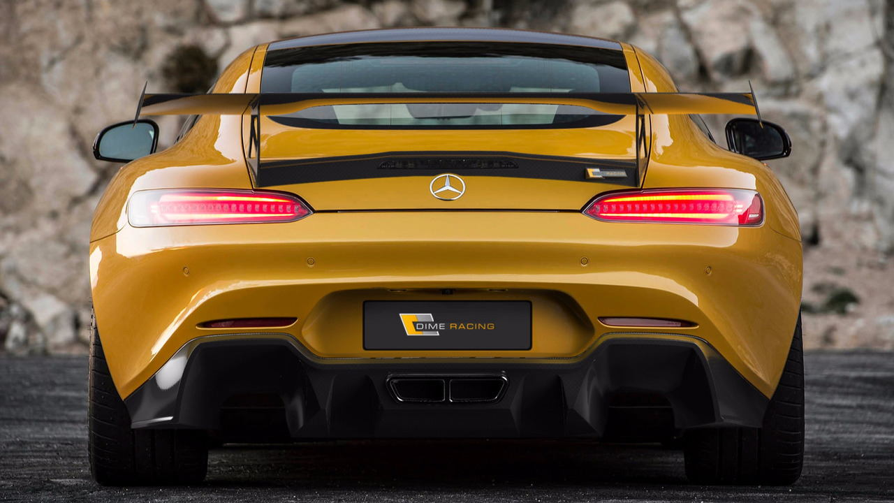 "ngam phien ban dime racing mercedes-amg gt ""manh me nhat"" hinh anh 3"