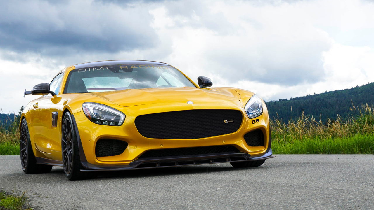 "ngam phien ban dime racing mercedes-amg gt ""manh me nhat"" hinh anh 1"
