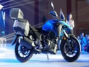 "o to - Xe may - Suzuki V-Strom DL250 Concept 2017 ""nha hang"" tai Trung Quoc"