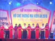 Doanh nghiep - Họi chọ thuong mại Kién An, Hải Phòng 2016: Phong phú gian hàng, tỏ chúc chuyen nghiẹp