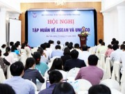 The gioi - Hoi nghi tap huan ve ASEAN va UNESCO