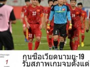 "The thao - dIeM TIN ToI (28.10): Bao Thai Lan ""vui dap"" U19 Viet Nam"