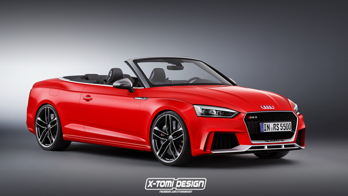 audi rs5 cabriolet 2018 lo anh thiet ke cuc dep hinh anh 1