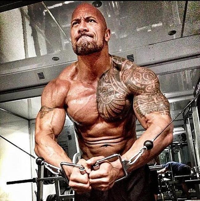 """nam than"" the rock so huu co bap sexy nhat the gioi hinh anh 7"