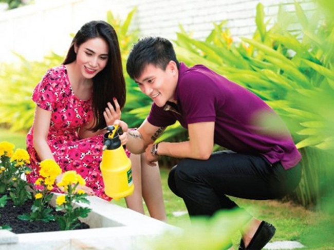 "thuy tien - cong vinh khien nguoi khac ""phat ghen"" nhu the nao? hinh anh 12"