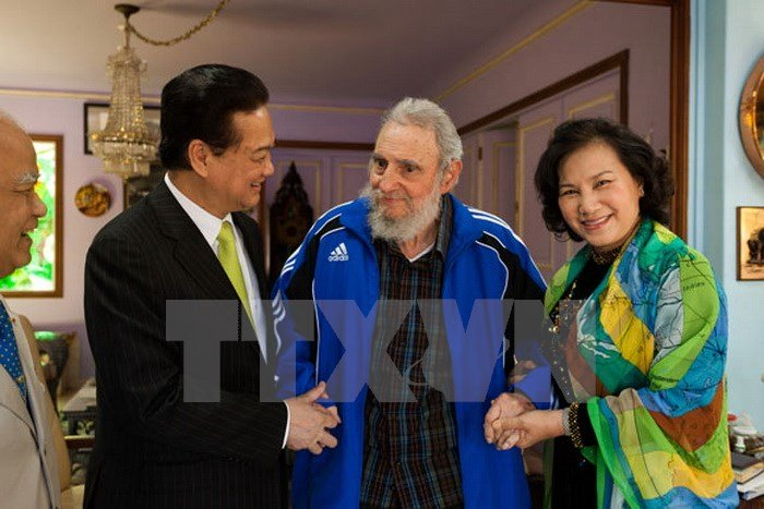 hinh anh fidel castro voi cac lanh dao viet nam hinh anh 5