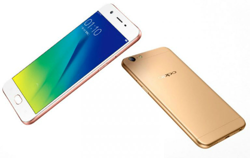 oppo cong bo smartphone tam trung a57, camera truoc 16mp hinh anh 1