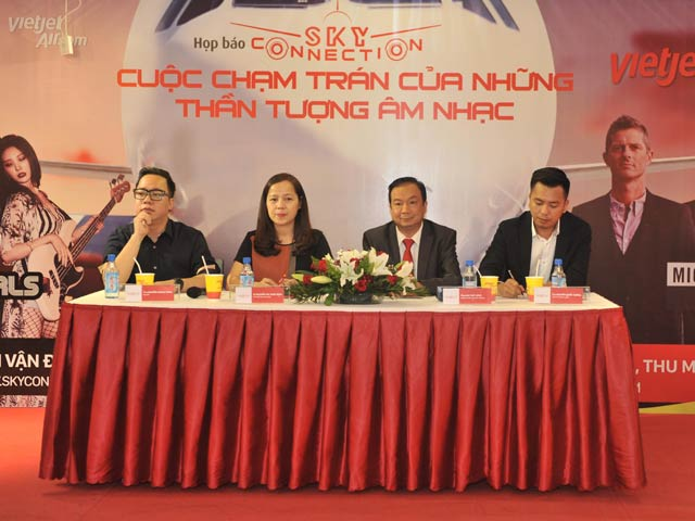 "cong bo dem nhac ""sky connection 2016"": cuoc cham tran cua cac than tuong am nhac michael learns to rock & wonder girls hinh anh 1"