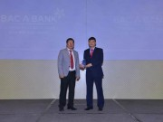 "BAC A BANK ""thang kep"" tai Vietnam Outstanding Banking Awards 2016"