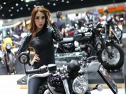 o to - Xe may - dot mat voi dan chan dai tai Thai Moto Expo 2016