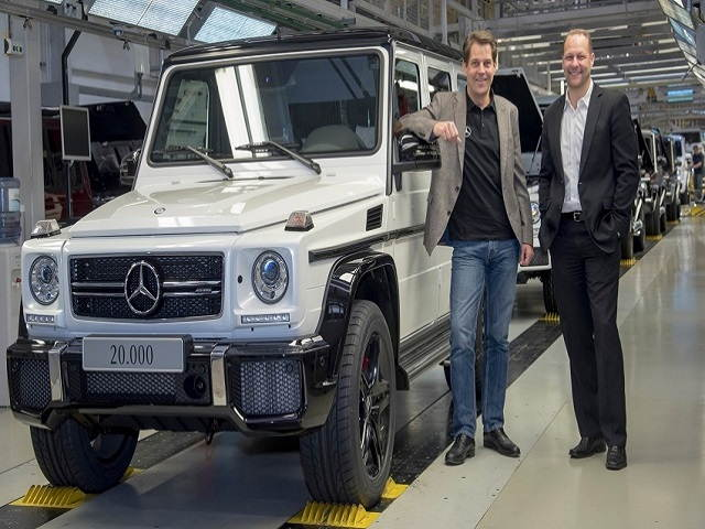 mercedes-benz g-wagen lap ky luc doanh so hinh anh 1