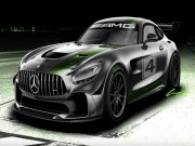 o to - Xe may - Mercedes-AMG khang dinh phat trien mau xe dua  AMG GT4