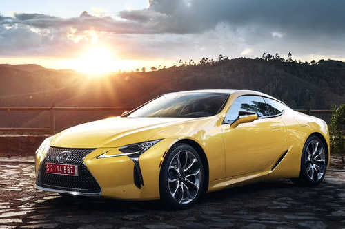 lexus lc 500: coupe the thao cuc quyen ru hinh anh 1