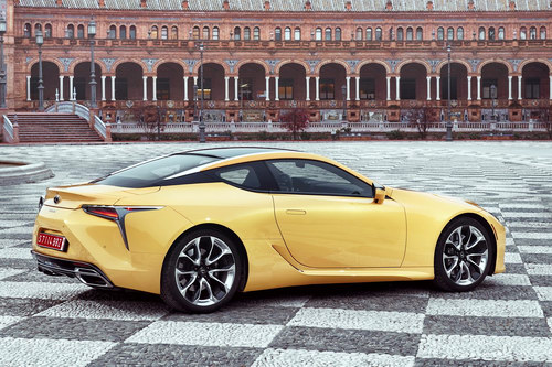 lexus lc 500: coupe the thao cuc quyen ru hinh anh 2