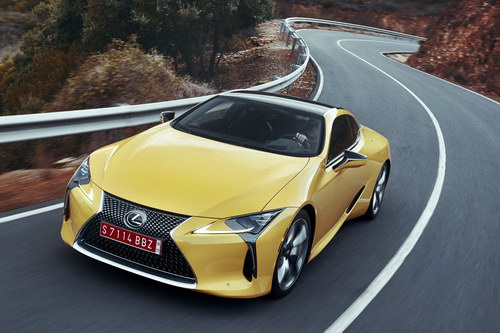 lexus lc 500: coupe the thao cuc quyen ru hinh anh 4