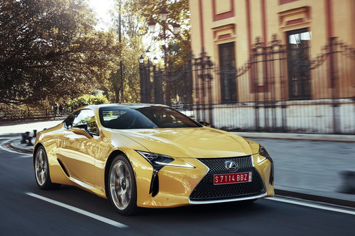 lexus lc 500: coupe the thao cuc quyen ru hinh anh 5