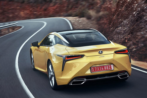 lexus lc 500: coupe the thao cuc quyen ru hinh anh 7