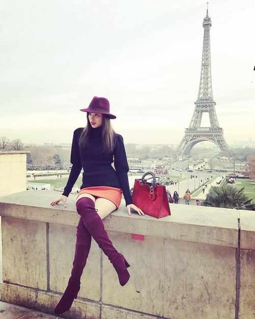 pham huong khoe street style chat lu o paris hinh anh 3