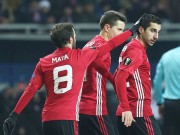 "The thao - Clip Mkhitaryan va Ibrahimovic ""no sung"", M.U vao vong 1/16 Europa League"