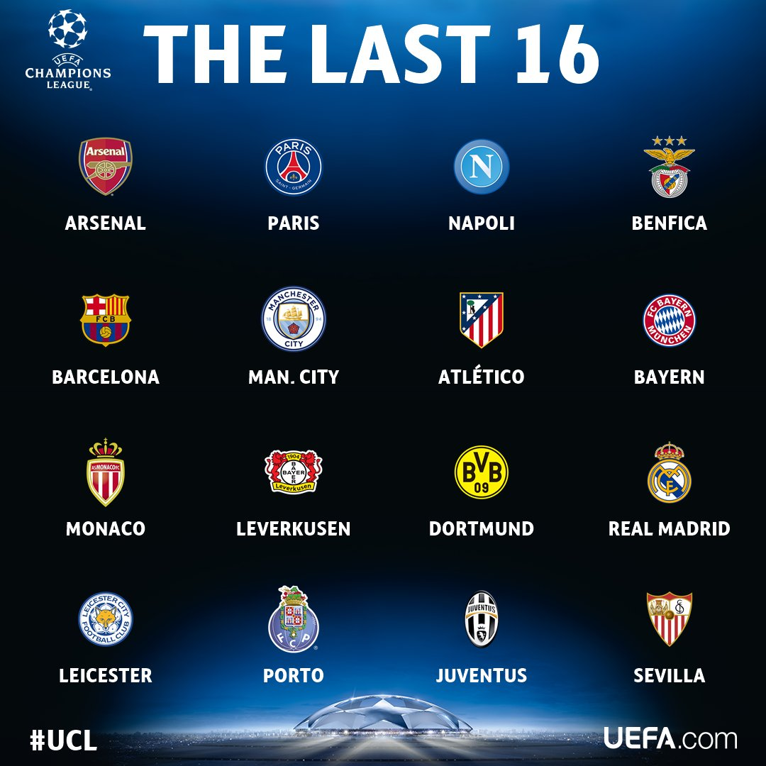 link xem truc tiep boc tham vong knock-out champions league hinh anh 2