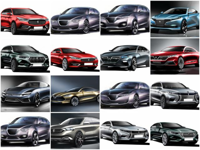 chiem nguong 20 mau xe concept cua vinfast hinh anh 1