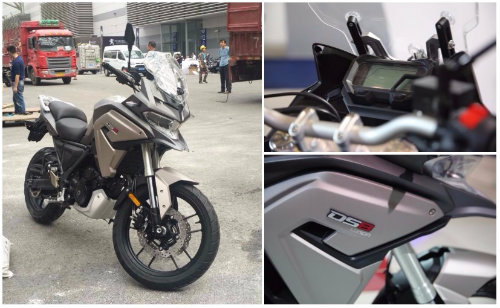 loncin ds8 650cc adventure: dau ho duoi meo hinh anh 1