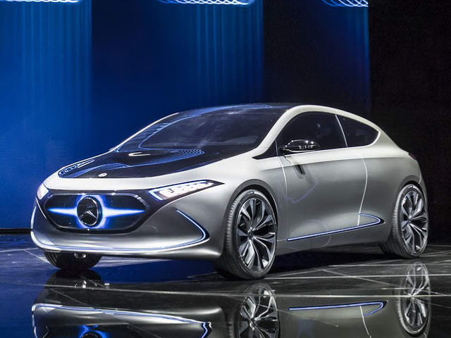 mercedes-benz concept eqa: xe the thao chay dien hinh anh 1