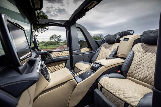 mercedes-maybach g650 landaulet cuoi cung gia 16,3 ty dong hinh anh 4