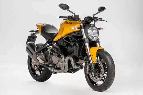 naked bike ducati monster 821 2018 lọ diẹn hinh anh 1