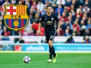 "The thao - Barca an dinh thoi gian ""cuop"" Ander Herrera khoi tay M.U"
