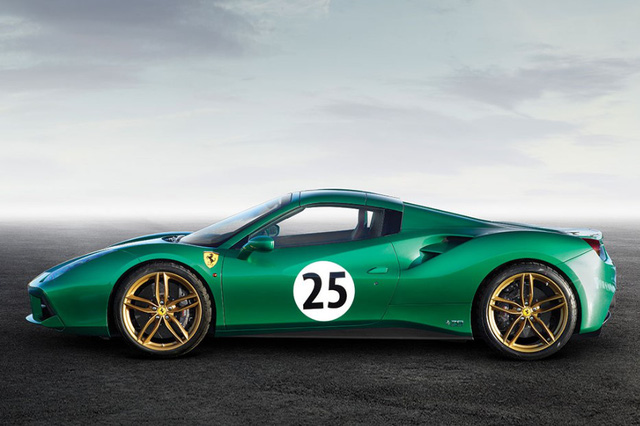 "ferrari 488 spider ""green jewel"" gia gan 30 ty dong hinh anh 4"