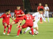 The thao - Thong tin bat ngo ve ve tran Viet Nam vs Afghanistan
