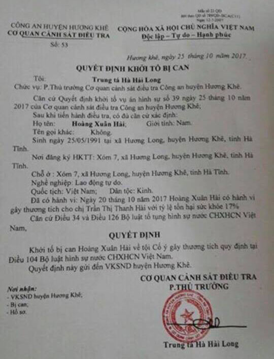 khoi to doi tuong vac dao chem nu pho tram truong y te hinh anh 3