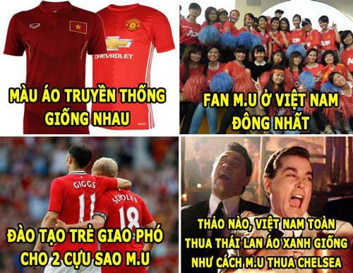 dt viet nam giong m.u, ronaldo thich vong 3 lon hinh anh 2