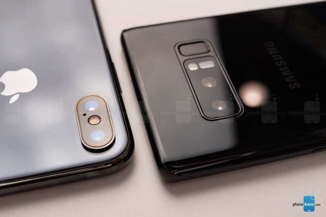 "so sanh iphone x voi galaxy note 8: ""cuoc cham tran nay lua"" hinh anh 11"